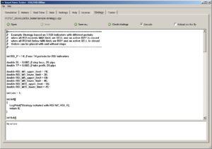 Smart Forex Tester EA testing